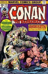 Conan the Barbarian Vol 1 (Marvel - 1970) -46- The curse of the conjurer!