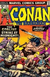 Conan the Barbarian (1970) -47- The goblins strike at midnight!