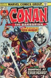 Conan the Barbarian Vol 1 (Marvel - 1970) -48- The rats dance at Ravengard!
