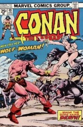 Conan the Barbarian Vol 1 (Marvel - 1970) -49- Wolf-woman!