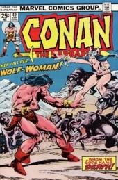 Conan the Barbarian (1970) -49- Wolf-woman!