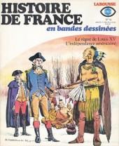 Histoire de France en bandes dessinées -14a- Louis XV, l'indépendance américaine