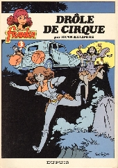 Franka (Dupuis) -3- Drôle de cirque