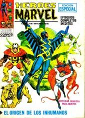 Héroes Marvel (Vol.1) -1- El origen de los Inhumanos