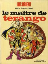Luc Orient -3- Le maître de Terango