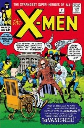 Uncanny X-Men (The) (1963) -2- No one can stop the vanisher!