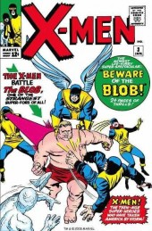 Uncanny X-Men (The) (Marvel comics - 1963) -3- Beware the blob!