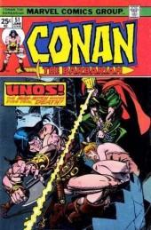 Conan the Barbarian (1970) -51- Man born of demon!