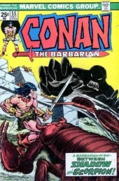 Conan the Barbarian Vol 1 (Marvel - 1970) -55- A shadow on the land!