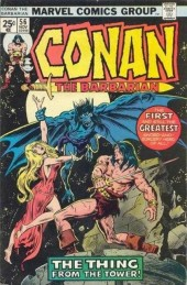 Conan the Barbarian Vol 1 (Marvel - 1970) -56- The strange high tower in the mist!