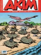 Akim (3e série) -14- L'île des méduses - La flotte du seigneur de la jungle