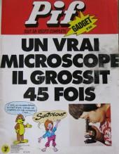 Pif (Gadget) -240- Un vrai microscope il grossit 45 fois