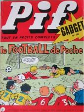 Pif (Gadget) -199- le football de poche