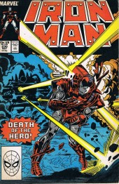 Iron Man Vol.1 (Marvel comics - 1968) -230-  The day the hero died