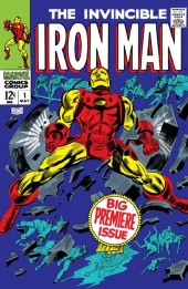 Iron Man Vol.1 (Marvel comics - 1968) -1- Alone against A.I.M./The Origin of Iron Man