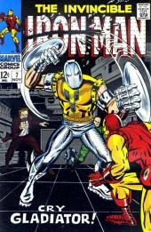 Iron Man Vol.1 (Marvel comics - 1968) -7- Cry Gladiator!