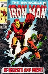 Iron Man Vol.1 (Marvel comics - 1968) -16- Of Beasts and Men!
