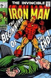 Iron Man Vol.1 (Marvel comics - 1968) -17- The Beginning of the End!