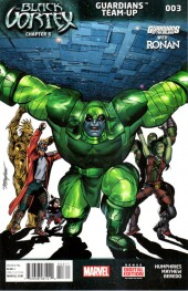 Guardians Team-Up (2015) -3- Guardians Of The Galaxy With Ronan