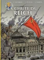 Lefranc (Les voyages de/Les reportages de) -7- La chute du reich