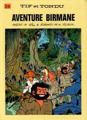 Tif et Tondu -24b1987- Aventure birmane