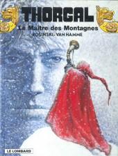 Thorgal -15c 98- Le Maître des Montagnes