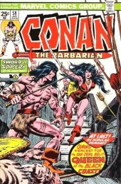 Conan the Barbarian Vol 1 (Marvel - 1970) -58- Queen of the black coast!