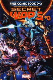 Free Comic Book Day 2015 - Secret Wars #0
