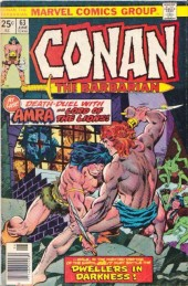 Conan the Barbarian Vol 1 (Marvel - 1970) -63- Death among the ruins!