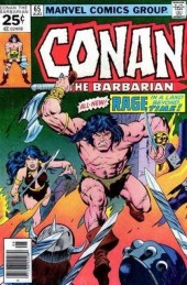 Conan the Barbarian Vol 1 (Marvel - 1970) -65- Fiends of the feathered serpent!