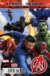 Avengers Vol.5 (Marvel comics - 2013) -43- And All That's Left Is Ashes
