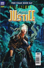 Neil Gaiman's Lady Justice (1995) -1FCBD- Hope & Dread