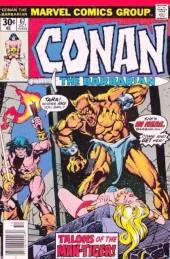 Conan the Barbarian (1970) -67- Talons of the man-tiger!