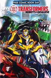 Free Comic Book Day 2015 - Transformers: Robots in Disguise #0