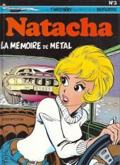 Natacha -3d92- la mémoire de métal