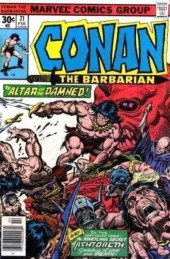 Conan the Barbarian Vol 1 (Marvel - 1970) -71- The secret of Ashtoreth!