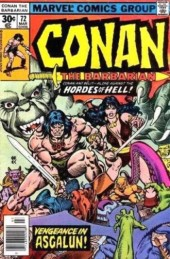 Conan the Barbarian Vol 1 (Marvel - 1970) -72- Vengeance in Asgalun