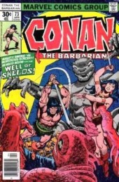 Conan the Barbarian Vol 1 (Marvel - 1970) -73- He who waits - In the well of Skelos!