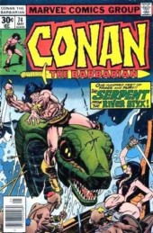 Conan the Barbarian Vol 1 (Marvel - 1970) -74- The battle at the black walls!