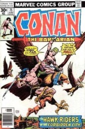 Conan the Barbarian Vol 1 (Marvel - 1970) -75- The hawk-riders of Harakht!