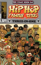 Free Comic Book Day 2015 - Hip Hop Family Tree
