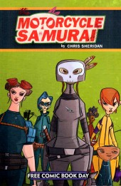Free Comic Book Day 2015 - Motorcycle Samurai