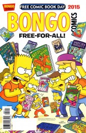 Bongo Comics Free-For-All! - Tome 2015FCBD
