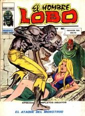Hombre Lobo (El) (Vol. 1) -9- El ataque del monstruo