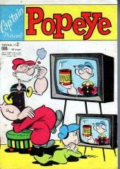 Popeye (Cap'tain présente) -2- Pas de vase pour popeye