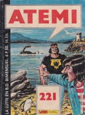 Atemi -221-  Monstre à sauver !