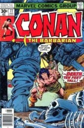 Conan the Barbarian Vol 1 (Marvel - 1970) -77- When giants walk the earth!