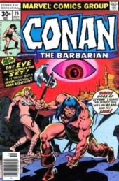 Conan the Barbarian Vol 1 (Marvel - 1970) -79- The lost valley of Iskander!
