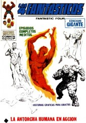 4 Fantásticos (Vol.1) (Los) -HS 2- La Antorcha Humana en acción