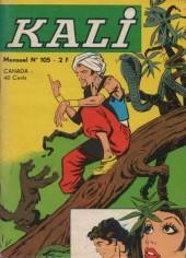 Kali -105- Le trésor de Kanagar
